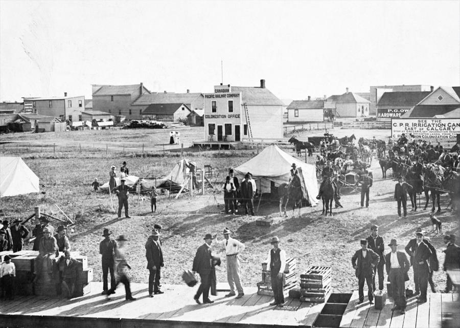 Historical photo of Strathmore